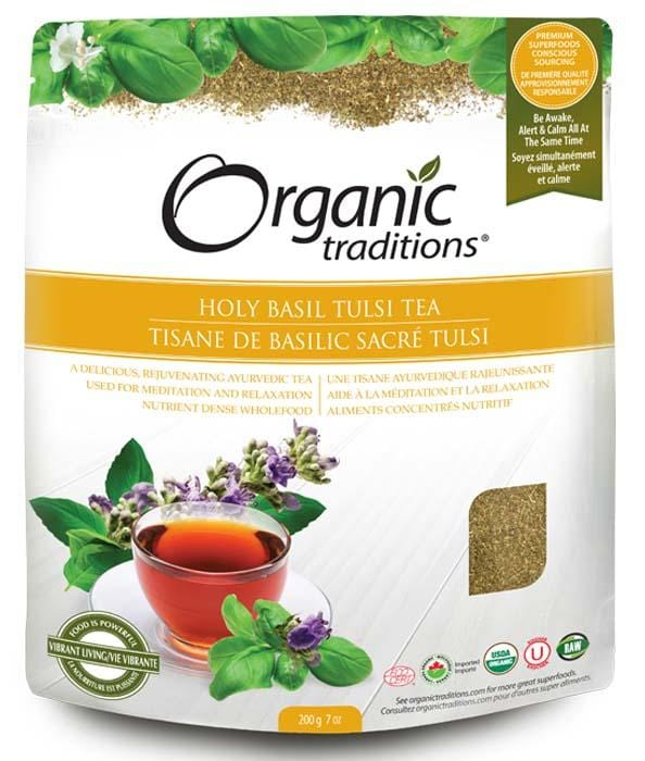 Organic Traditions Holy Basil Tulsi Tea