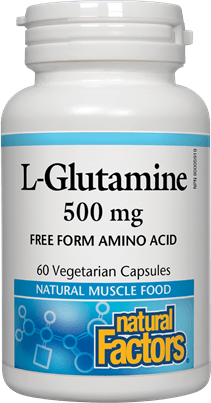Natural Factors L-Glutamine 500 mg