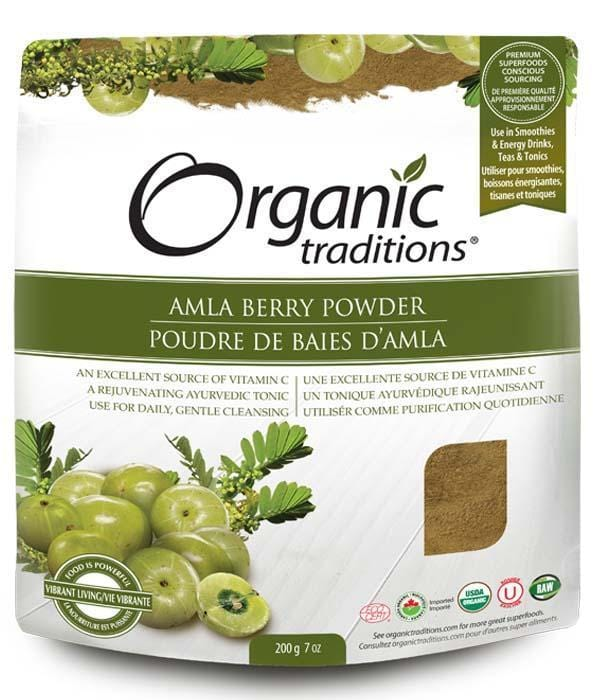 Organic Traditions Amla Berry Powder
