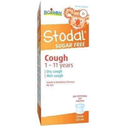 Boiron Stodal Children's Sugar Free Cough Syrup