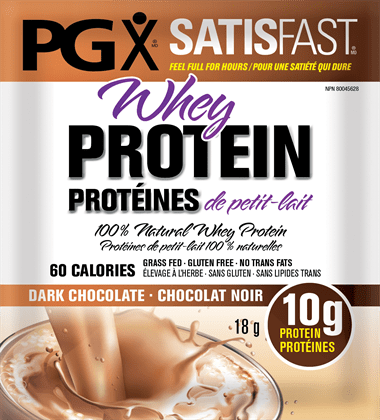 Natural Factors PGX Daily Pre-Meal Protein Drink Mix - Rich Chocolate
