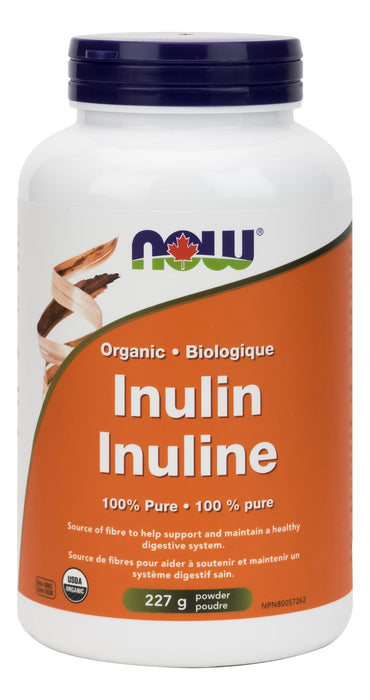 NOW Organic Inulin Powder