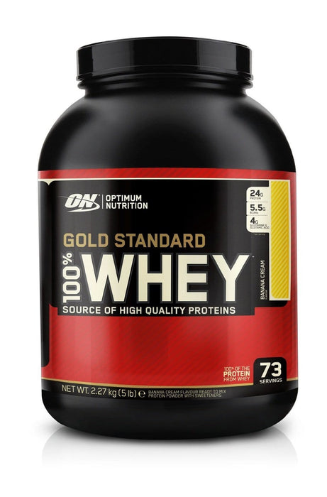 Optimum Nutrition Gold Standard 100% Whey - Banana Cream 5lb