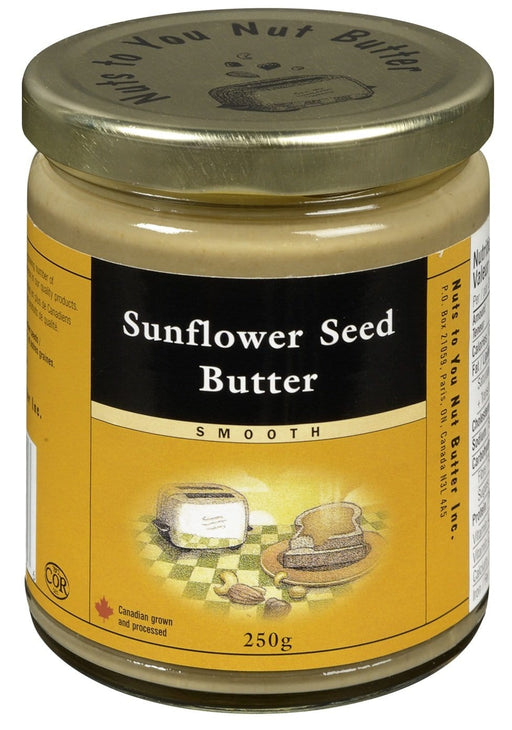 Nuts to You Nut Butter Sunflower Seed Butter 250 g