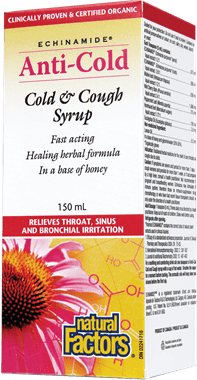 Natural Factors Echinamide Cold & Cough Syrup 150mL