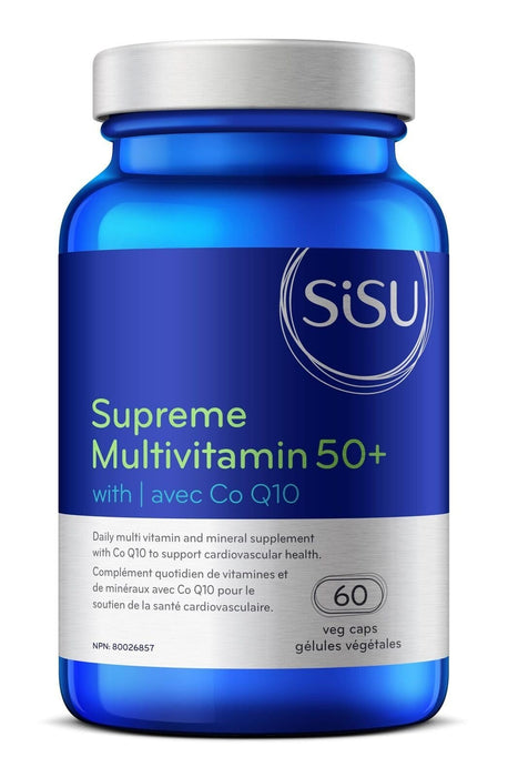 Sisu Supreme Multivitamin 50+ with Co Q10