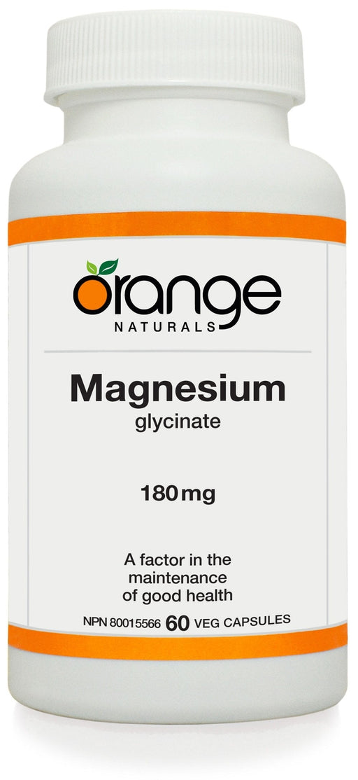 Orange Naturals Magnesium glycinate 180mg