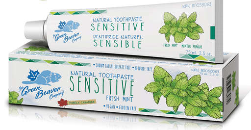 Green Beaver Sensitive Teeth Toothpaste Fresh Mint