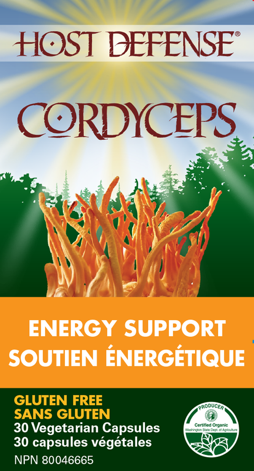 Host Defense Cordyceps - Energy Support 30 Capsules