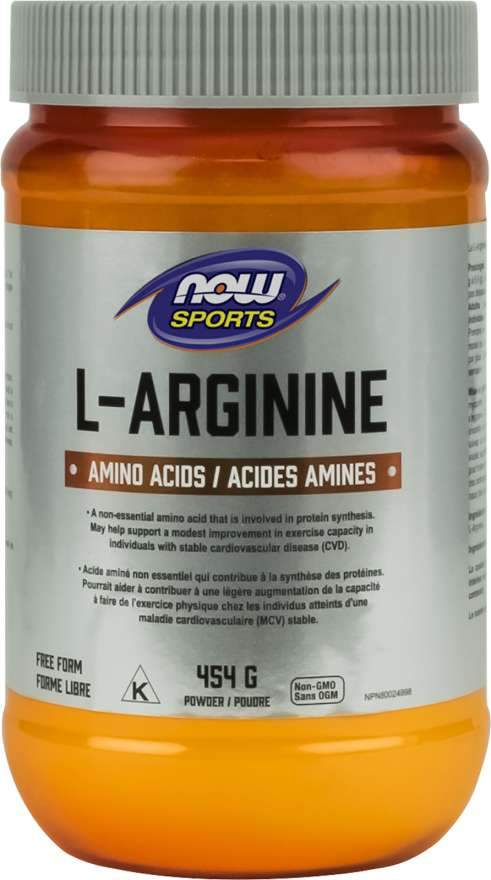 NOW L-Arginine Powder 454 g