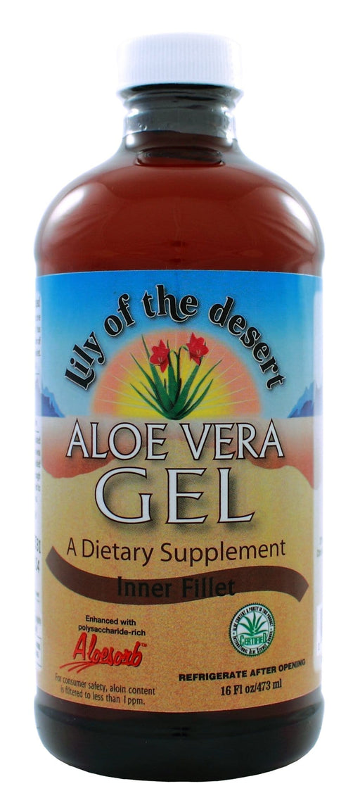 Lily Of The Desert Aloe Vera Gel Inner Fillet 16oz/473ml
