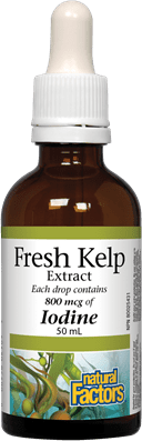 Natural Factors Fresh Kelp Extract 50mL