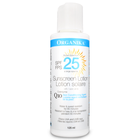 Organika COENZYME Q10 SUNSCREEN LOTION 125 ml