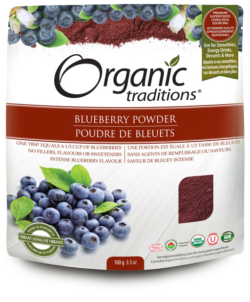 Organic Traditions Blueberry Powder