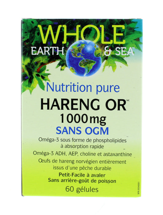 Buy Whole Earth And Sea Herring Gold 1000 Mg 60 Softgels