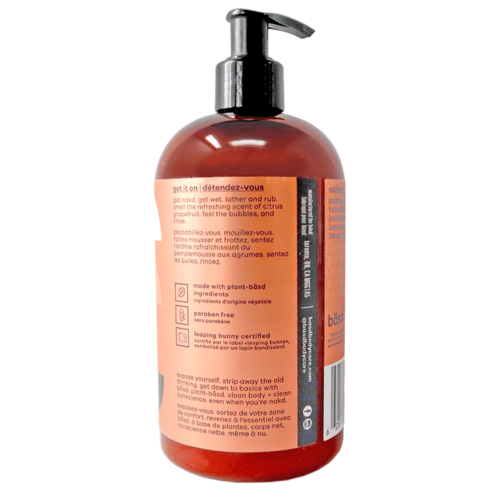Basd Body Wash Refreshing Grapefruit 450 ml