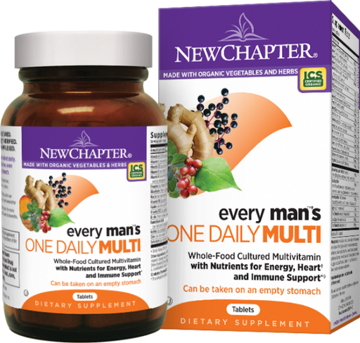 New Chapter Every Man's One Daily 48 Tablets