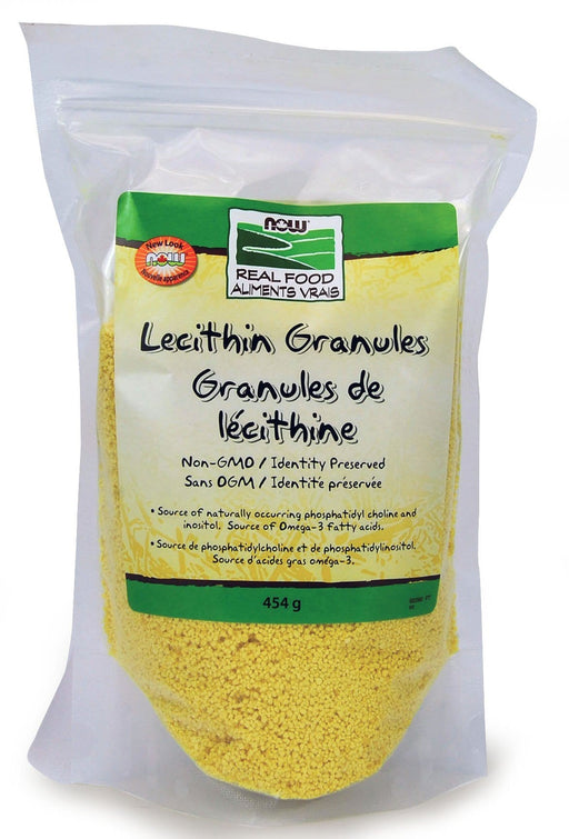 NOW Lecithin Granules non-GMO 454 g