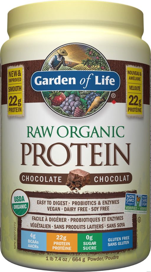Garden of Life Raw Organic Protein Chocolate 664 g