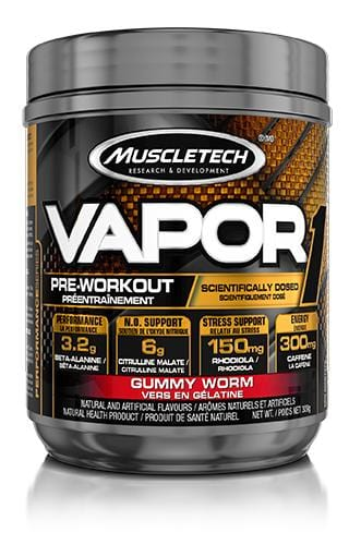 MuscleTech Vapor One Pre-Workout Gummy Worm 309 g
