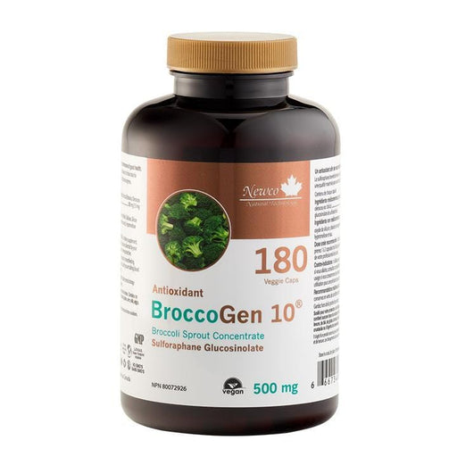 Newco Natural Technology BroccoGen 10 Sulforaphane Glucosinolate 180 Caps