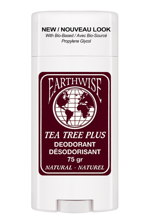 Earthwise Tea Tree Plus Deodorant 75 g