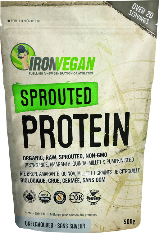 Iron Vegan - Sprouted Protein Unflavoured