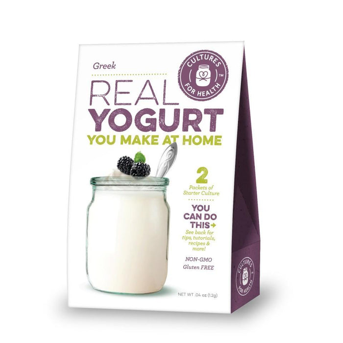 Cultures For Health Greek Yogurt