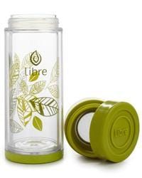 Libre Lively leaves Loose Leaf Tea Glass