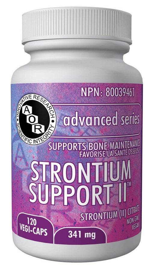 AOR Strontium Support II 120 Capsules (Short Dated)