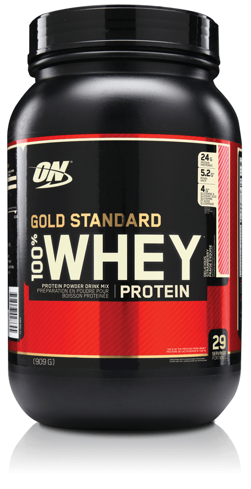 Optimum Nutrition Gold Standard 100% Whey - Delicious Strawberry 2lb