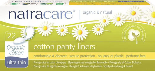 Natracare Cotton Panty Liners - Ultra Thin