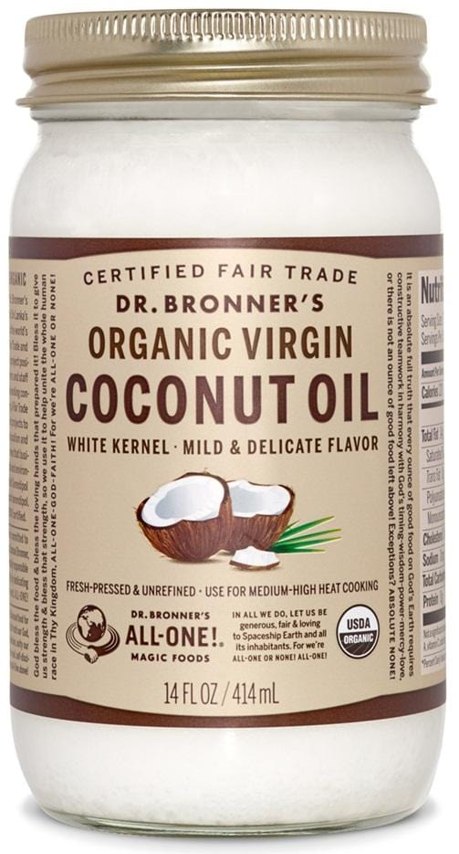 Dr. Bronner's Magic Soap White Virgin Coconut Oil