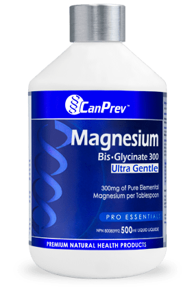 CanPrev Magnesium Bis-Glycinate 300 Ultra Gentle