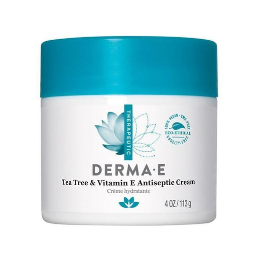 Derma E Tea Tree & E Antiseptic Cream 113 g