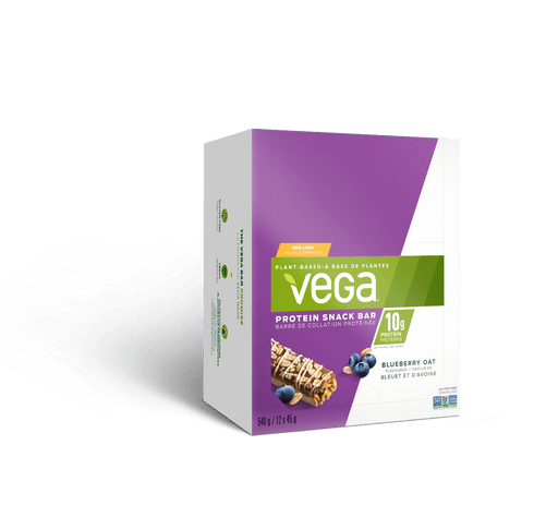 Vega Protein Snack Bar Blueberry Oat Box of 12