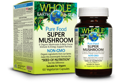 Whole Earth and Sea Pure Food Super Mushroom