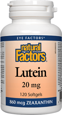 Natural Factors Lutein 20 mg 120 Capsules
