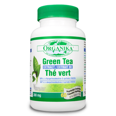 Organika GREEN TEA EXTRACT  300MG 60 Capsules