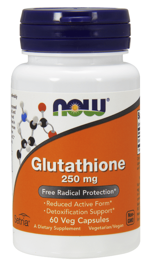NOW Glutathione 250mg 60 V-Caps