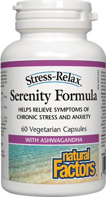 Natural Factors Stress-Relax Serenity Formula 60 Capsules