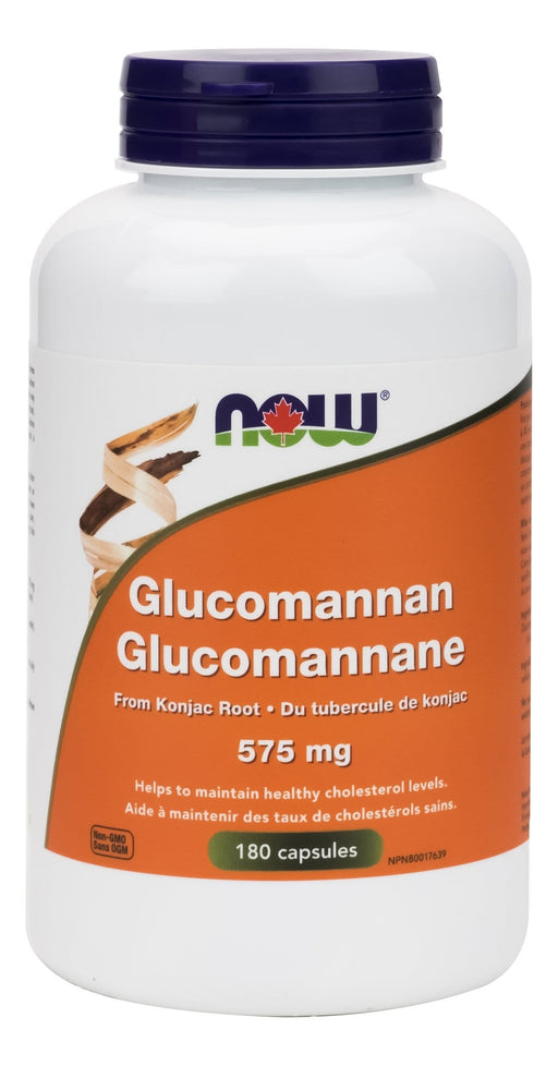 NOW Glucomannan 575 mg 180 Capsules