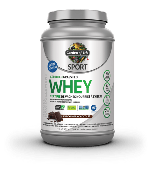 Garden of Life Sport Certified Grass Fed Whey Chocolate 672 g