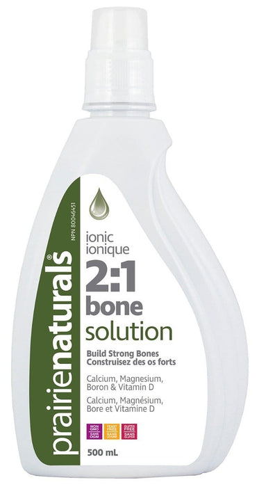 Prairie Naturals Calcium Bone Solution 2:1