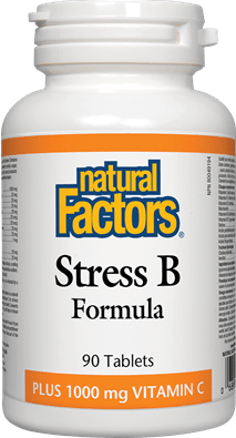 Natural Factors Stress B Formula 90 Tablets