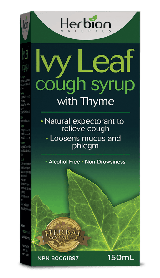Herbion Naturals Ivy Leaf Cough Syrup with Thyme