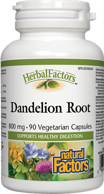 Natural Factors Dandelion Root Extract 90 Capsules