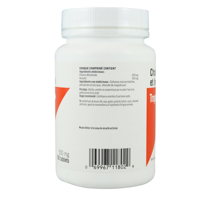 Trophic Choline & Inositol - 500 mg