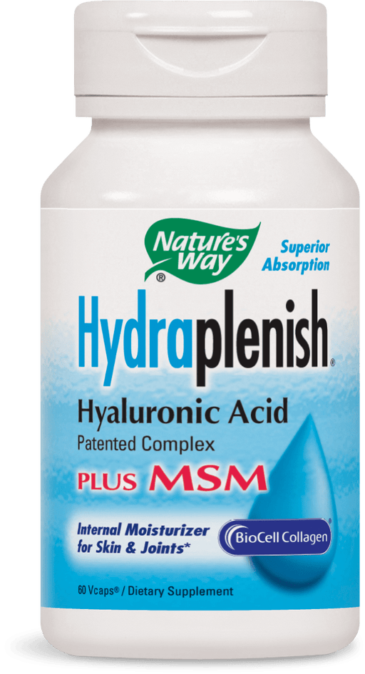 Nature's Way Hydraplenish Hyaluronic Acid Plus MSM