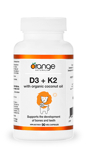 Orange Naturals D3 + K2 90 Softgels